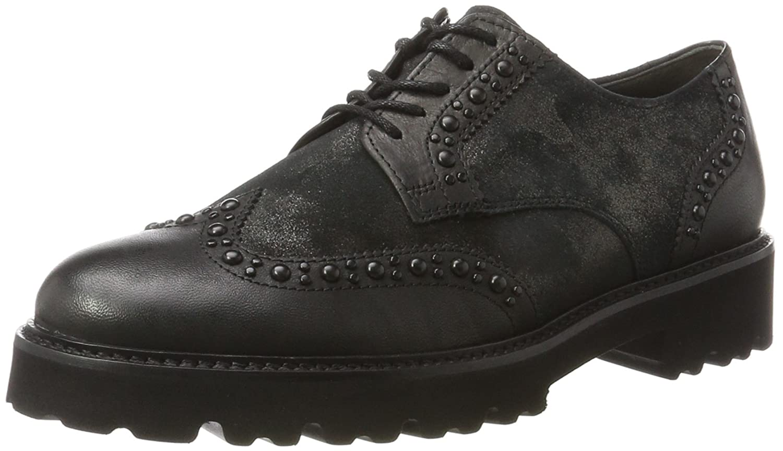 Gabor Shoes Gabor Fashion, Derby para Mujer 40.5 EU Negro (Schwarz)