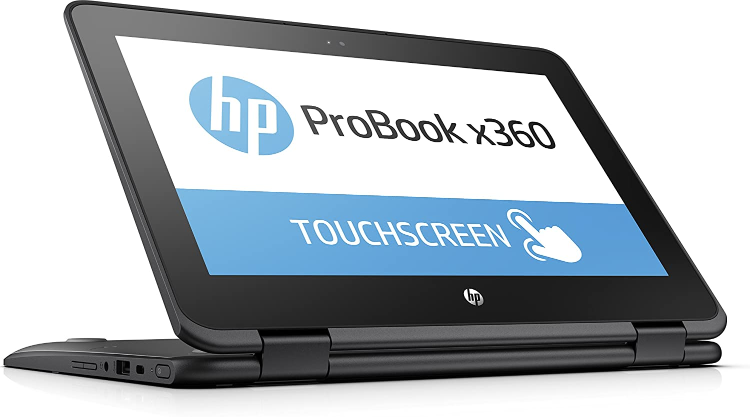 HP ProBook x360 11-G1 EE 11.6-inch 2-in-1 Convertible HD Touch-screen Laptop PC with Active Pen, Intel N3450 Quad-Core, 64GB eMMC, 4GB DDR3, 802.11ac, Bluetooth, Win10S