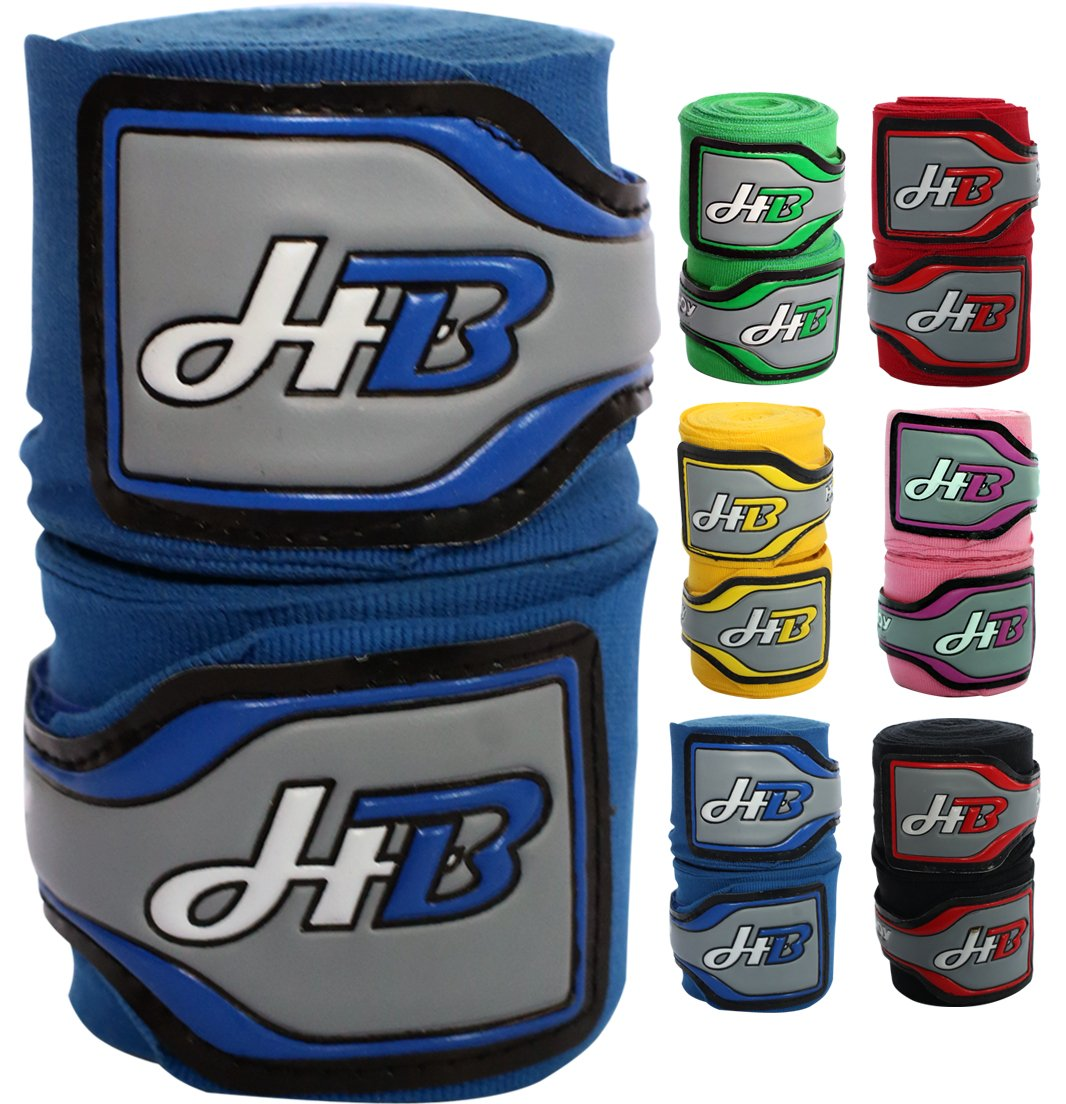 HITBOY VERTEX BOXING MMA TRAINING HAND WRAPS 4.5M Fighting Sports Punching Muay Thai Karate Martial Arts Workout Taekwondo UFC Punch Bag Hand Wrist Fist Protection with Inner Bandages Mitts