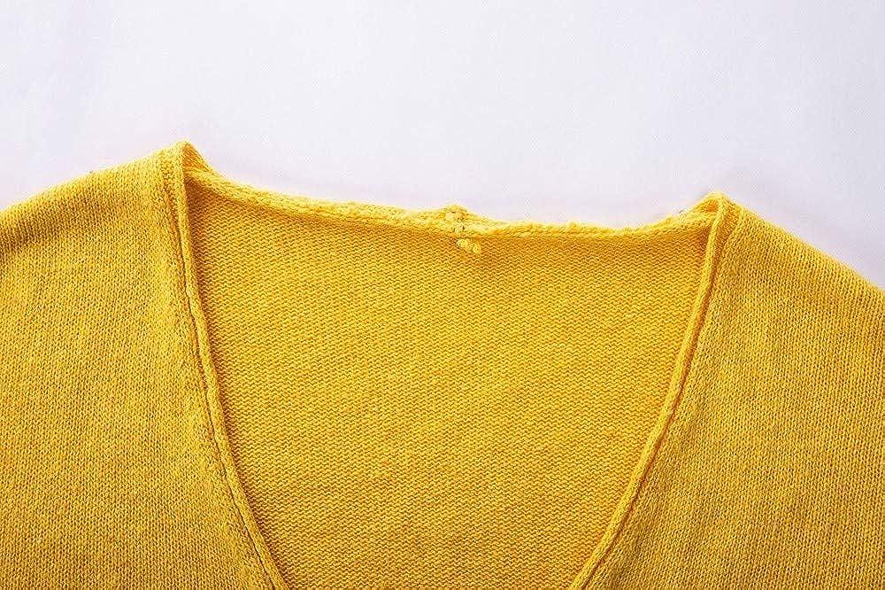 FORUU Fashion Autumn Deep V-Neck Long Sleeve Solid Color Sweater Blouse Plus ZYH20181011 Womens Sweatshirt
