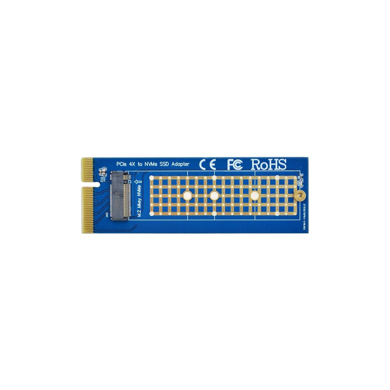 ADWITS SATA III da 6 Gb/S a M.2 (NGFF) B-Key 2230/2242/2260/2280 Adattatore SSD basato su SATA, Universal DDR2/3/4 Slot di memoria Allacciamento scheda di espansione SSD, Nero