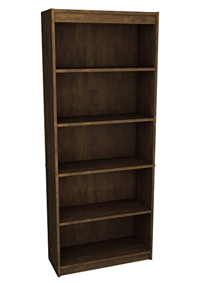 Nice Bestar Standard Bookcase, Chocolate