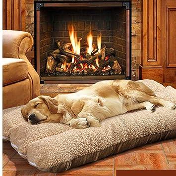Catalpa - Cama para Perros, tamaño XL, para Animales, para Perros, con Forma de Flor, Lavable 70 x 50 x 12 cm: Amazon.es: Productos para mascotas