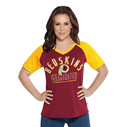 e41fd6598 Amazon.com   G-III Sports Washington Redskins Women s Ace T-Shirt ...