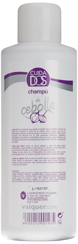 Cuidados Champú de Cebolla - 1000 ml.: Amazon.es: Belleza
