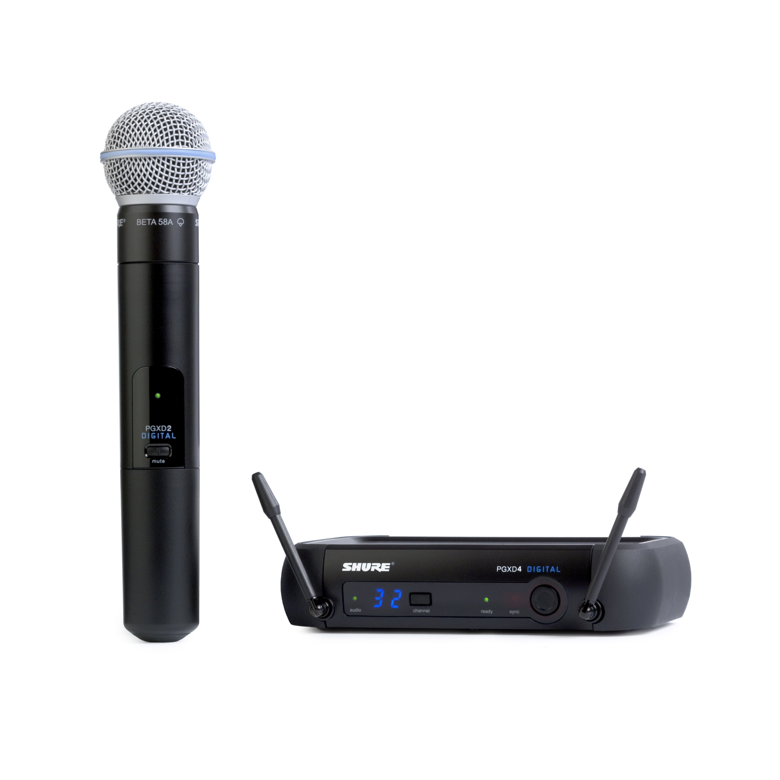 Shure PGXD24/BETA58-X8 Digital Wireless System with Beta 58A Handheld Transmitter