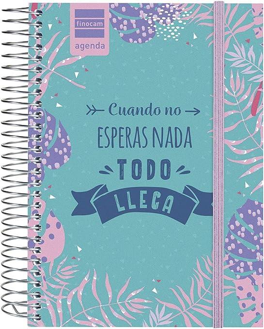 Finocam - Agenda 2019-2020 1 día página español Prints Floral ...
