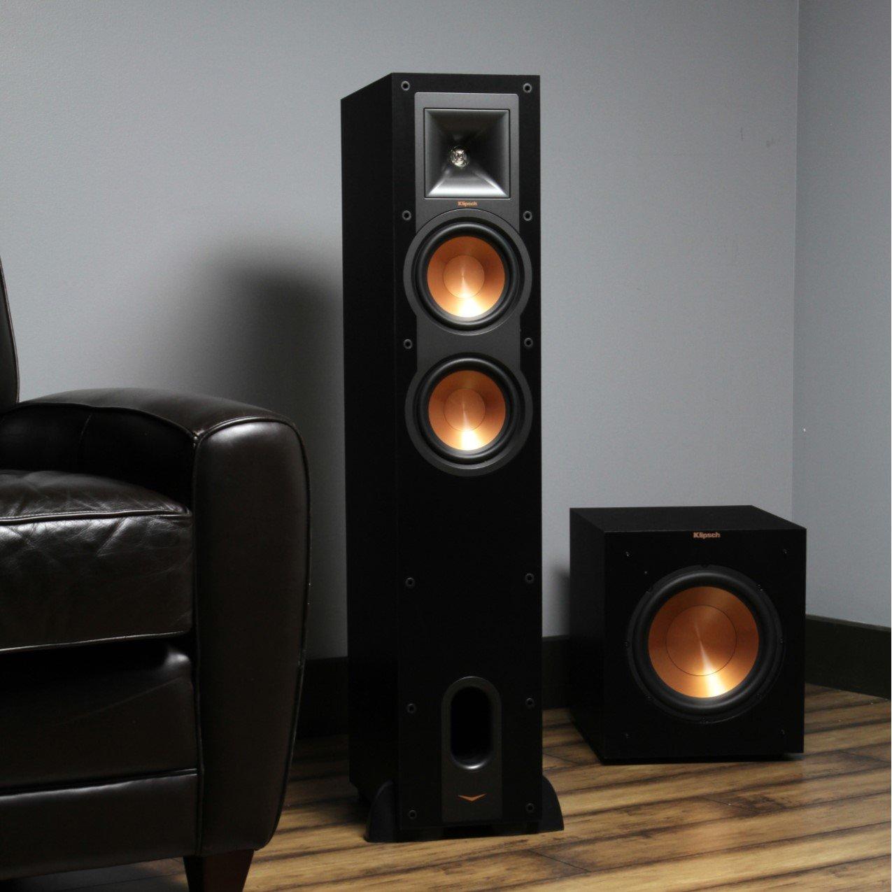 Klipsch R 26f Floorstanding Speaker Each Home Audio Subwoofer Wiring Diagram Theater