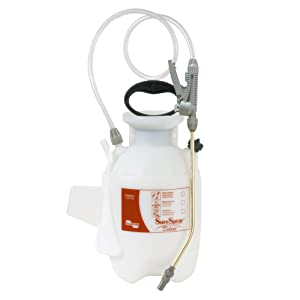 Chapin International Herbicides and Pesticides, Package Chapin 26010 1-Gallon Deluxe SureSpray Sprayer for Fertilizer, Herbici, 1 Gallon, Translucent