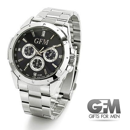 Mejores Regalos para Hombres – Designer Reloj Deportivo en acero inoxidable