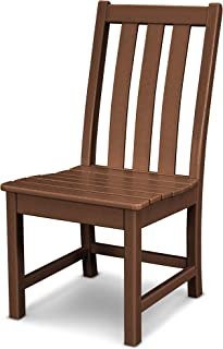 product image for POLYWOOD Vineyard Dining Side Chair (Teak)