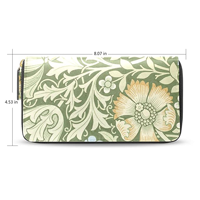 Amazon.com: Womens William Morris Prints funda de piel con ...