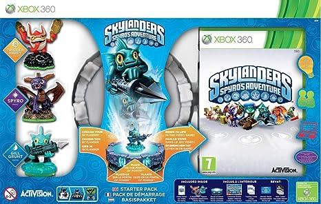 Activision Skylanders: Spyros Adventure Starter Pack Xbox 360 vídeo - Juego (Xbox 360, Acción / Aventura, Modo multijugador, E10 + (Everyone 10 +)): Amazon.es: Videojuegos