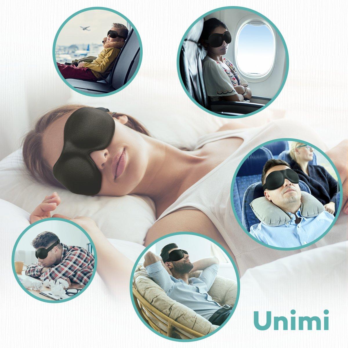 Unimi des Masque de sommeil Masque pour les yeux pour dormir