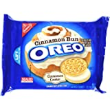 Oreo Golden Sandwich Cookies, Cinnamon Bun, 12.2 Ounce