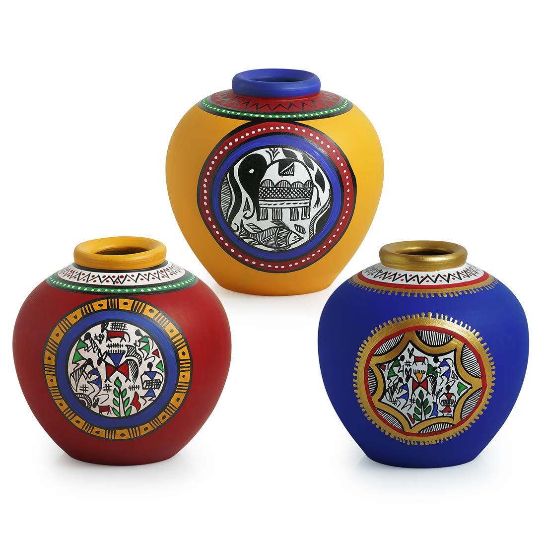 Home & Office - Decorative Terracotta Vase