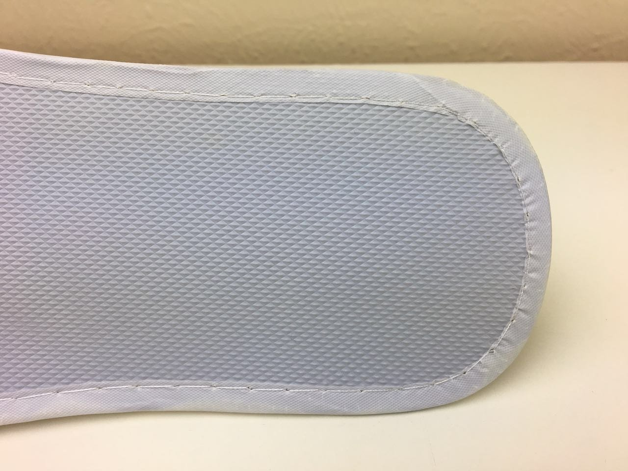 Huini Disposable Cotton Slippers Salon / SPA / Pedicure (Open Toes) 12 Pairs by HUINI