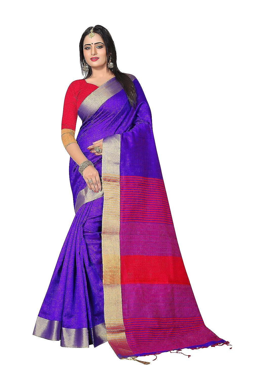 bluee 4 Fashions Trendz Indian Sarees for Women Wedding Designer Party Wear Traditional Sari.