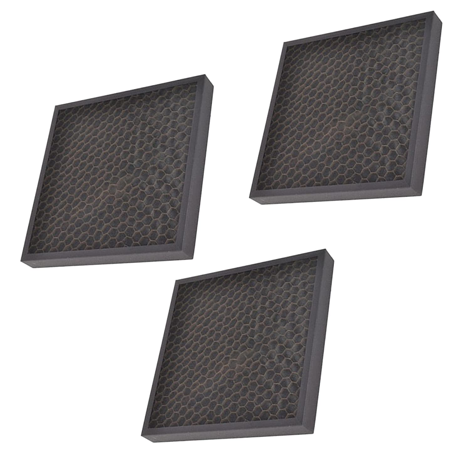SPARES2GO Carbon Cartridge Filter for Delonghi AC100 & AC150 Air Conditioner (Pack of 3)