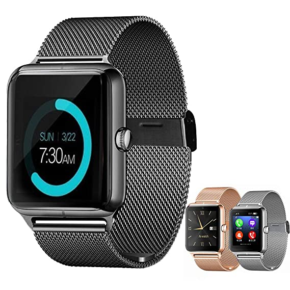 Amazon.com: Smart Watch Upgrated Bluetooth Smartwatch with ...