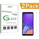 RKINC for Samsung A7 2018 Screen Protector, [2 Pack] Crystal Clear Tempered Glass Screen Protector [9H Hardness][2.5D Edge][0.33mm Thickness][Scratch Resist] for Samsung Galaxy A7 2018