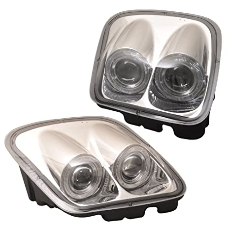 Amazon lights fits 1997 2004 chevy corvette led halo rims lights fits 1997 2004 chevy corvette led halo rims projector headlights chrome housing by sciox Image collections