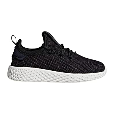 7c240426e4f adidas Originals Kids Unisex PW Tennis HU I (Toddler) Black Chalk White 4