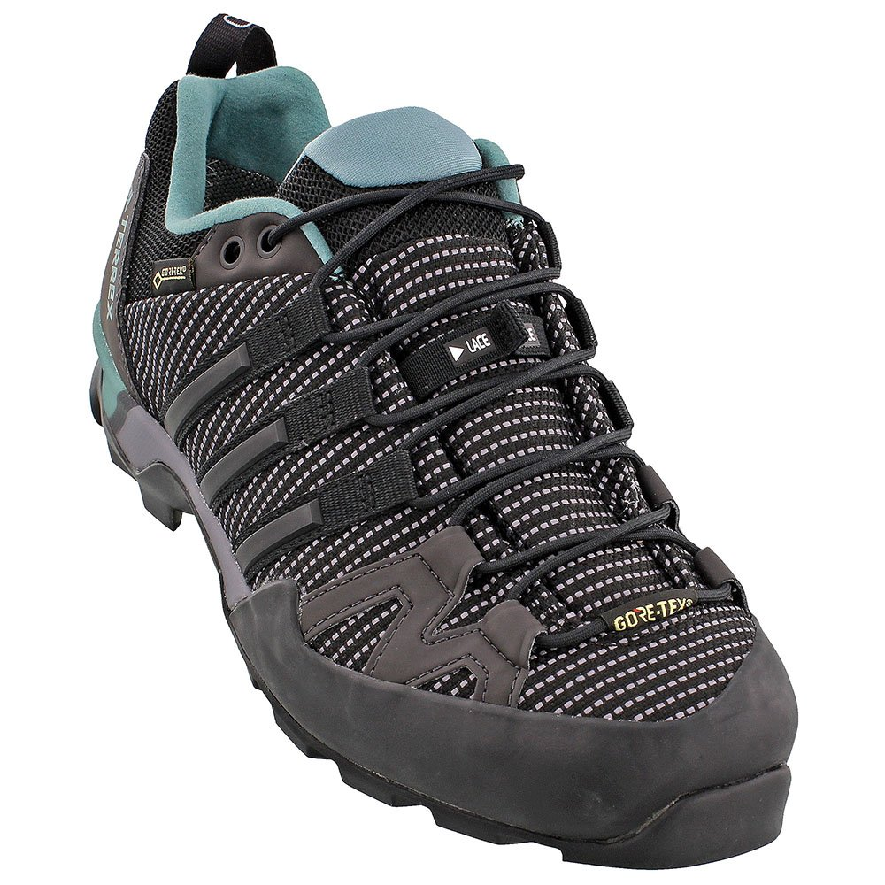 adidas outdoor Women's Terrex Scope GTX Trace Grey/Black/Vapour Steel 7.5 B US