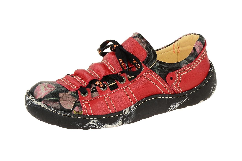 Eject11628/1.002 - zapatos con cordones Mujer 36 EU|Rojo