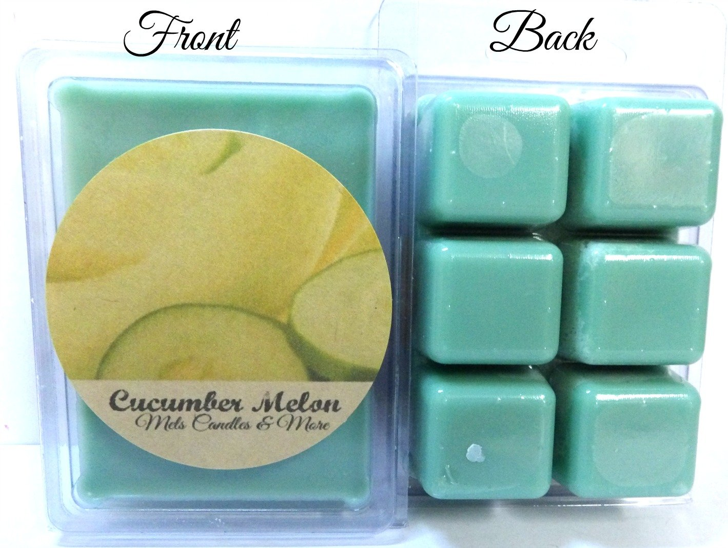 Scent Brick Wickless Candle Maple Bacon 3.2 Ounce Pack of Soy Wax Tarts
