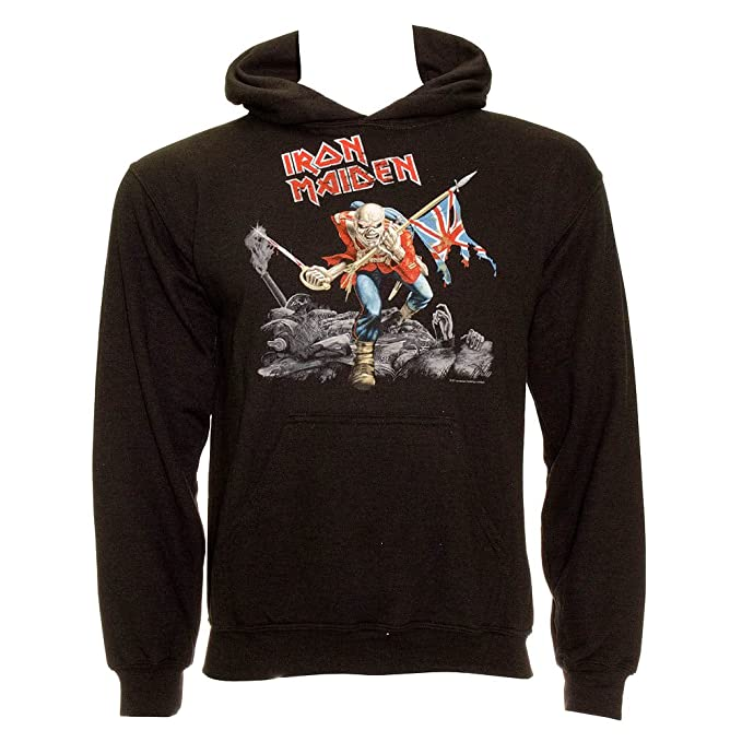 Iron Maiden - Sudadera con capucha - The Trooper