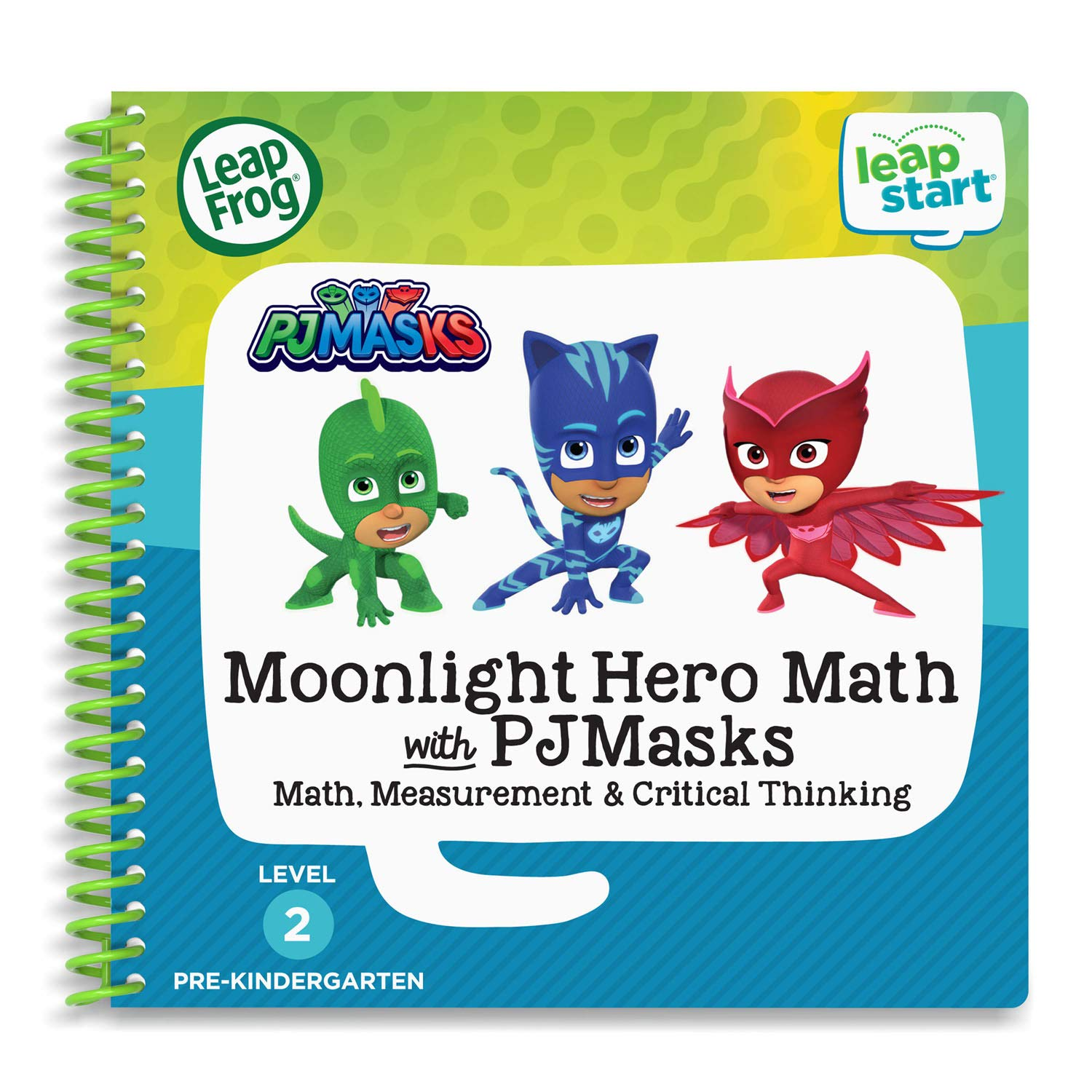 LeapFrog LeapStart 2 Book Combo Pack Scout /& Friends Math and Moonlight Hero Math with PJ Masks