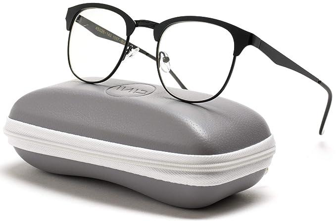 a0b0d28fae Amazon.com  WearMe Pro - Metal Frame Modern Clear Lens Non ...