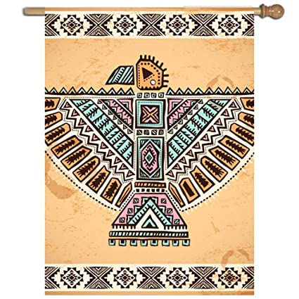 Amazon Vasquezlia Home Decorative Single Sided Tribal Native