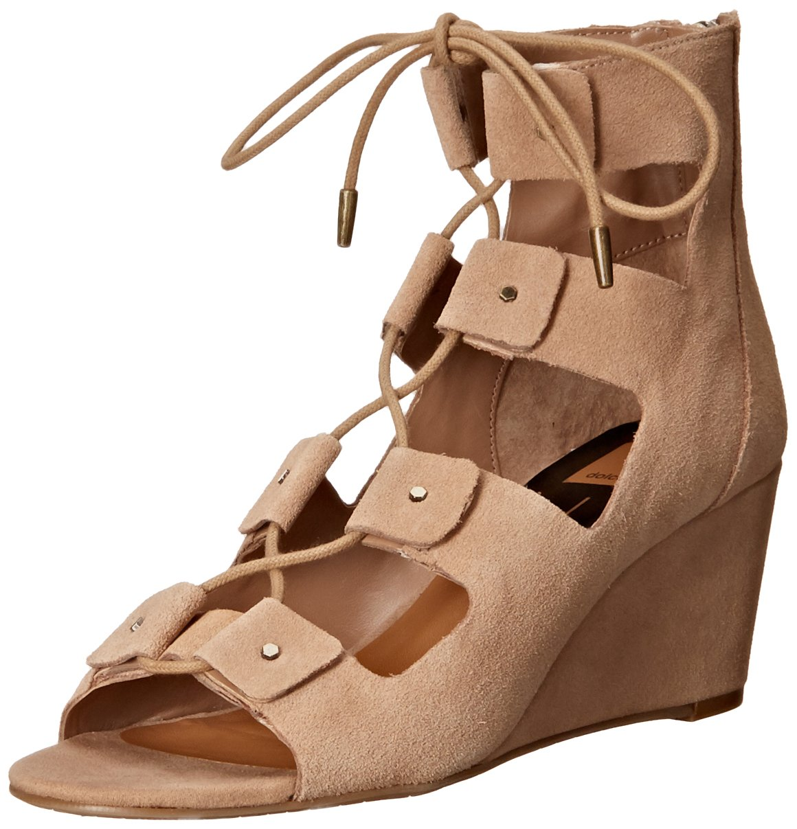 Dolce Vita Women's Liana Wedge Sandal B01C72K8IW 6 B(M) US|Taupe