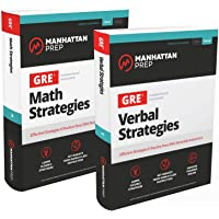GRE Math & Verbal Strategies Set: Effective Strategies & 6 Online Practice Tests from 99th Percentile Instructors (Manhattan Prep GRE Strategy Guides)