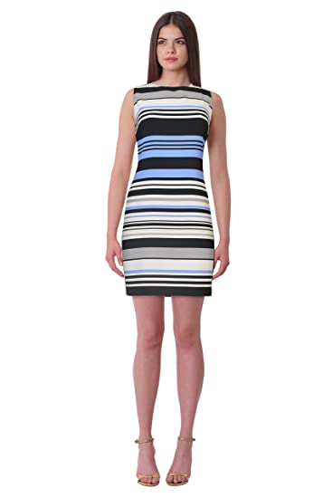cc1e3f23e5c Image Unavailable. Image not available for. Color  Lauren Ralph Lauren  Petite Albina Striped Shift Dress