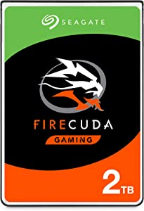 Seagate FireCuda 2TB Solid State Hybrid Drive Performance SSHD – 2.5 Inch SATA 6Gb/s Flash Accelerated for Gaming PC Laptop (ST2000LX001)