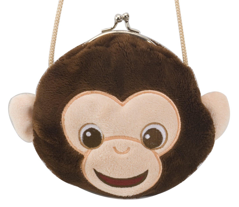 Wild Republic Clasp Purse Chimp 6 87714