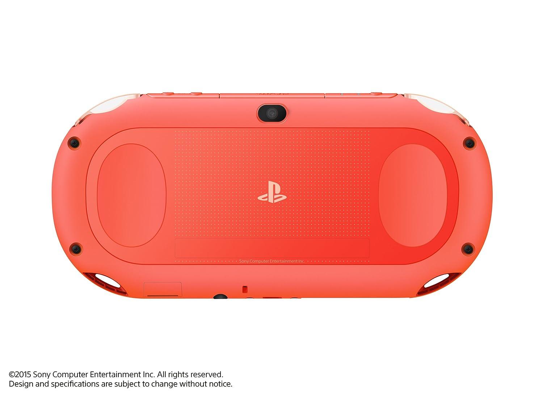 Sony PlayStation Vita PCH-2000ZA24 Wi-Fi Model Neon Orange ...