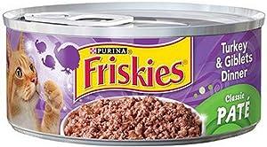 Friskies, Turkey & Giblets Dinner, 5.5 Oz