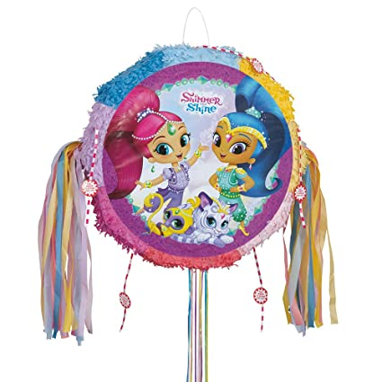 Amazoncom Shimmer And Shine Pinata Pull String Toys Games