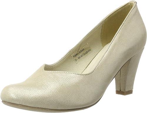 TALLA 39 EU. Andrea Conti 1003464, Zapatos de tacón con Punta Cerrada para Mujer