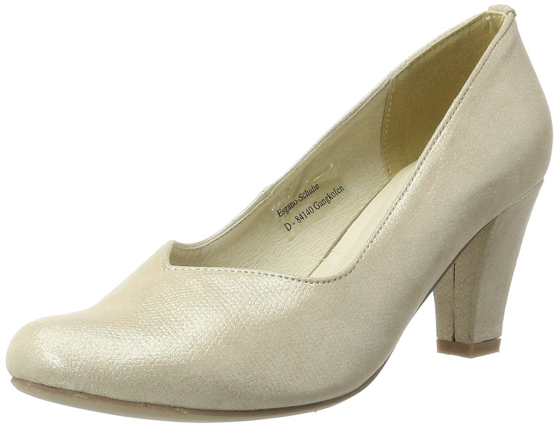TALLA 38 EU. Andrea Conti 1003464, Zapatos de tacón con Punta Cerrada para Mujer
