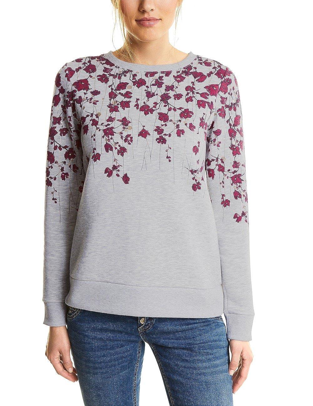 Street One Printed Flower Sweatshirt, Sudadera para Mujer
