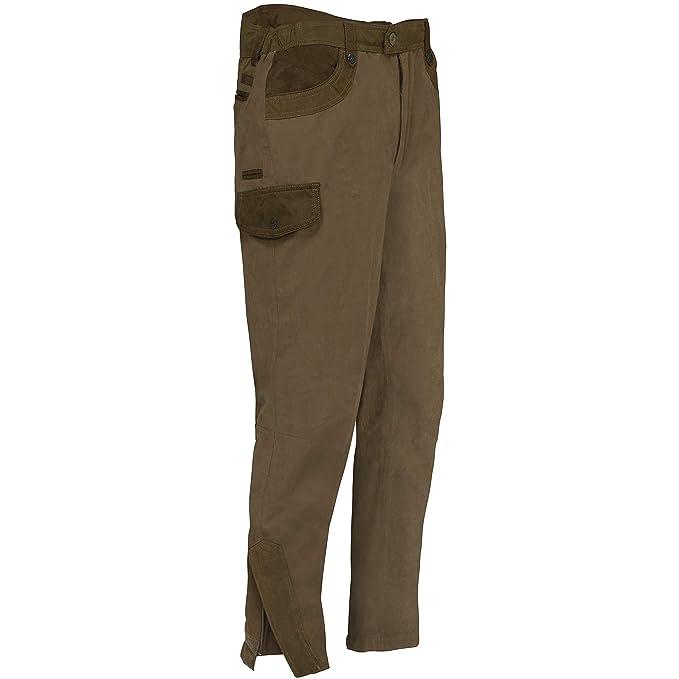 Percussion Rambouillet - Pantalón de caza, color marrón, tamaño 42