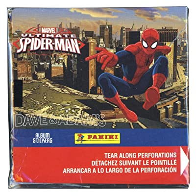 Panini Marvel Ultimate Spider-Man Album Sticker Box: Toys & Games