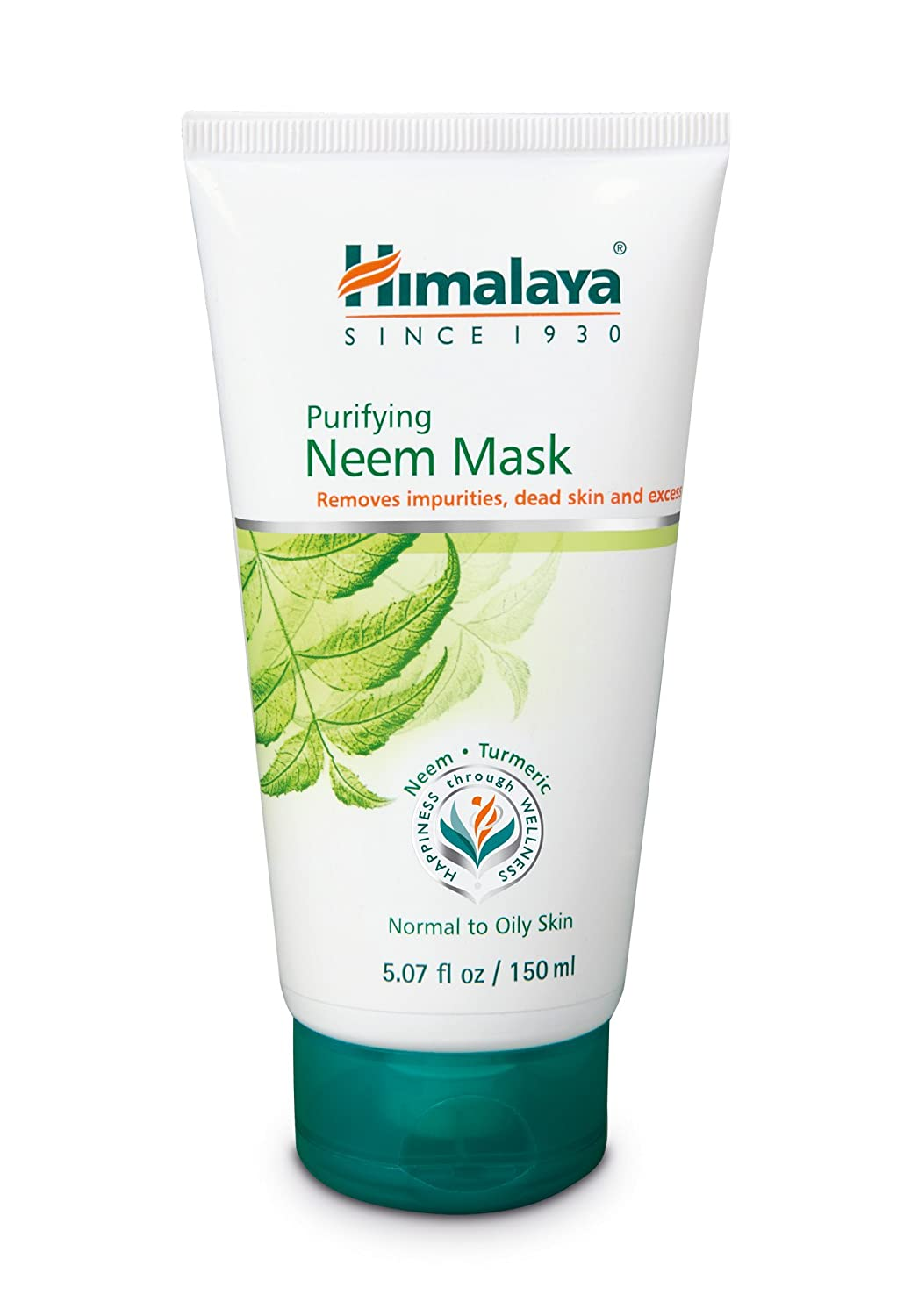Himalaya Almond & Cucumber Peel-Off Mask, Removes Blemishes, Dead Cells and Impurities 5.07oz/150ml The Himalaya Drug Company