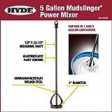 HYDE Tools 46565 4-Inch Diameter 23-1/2-Inch