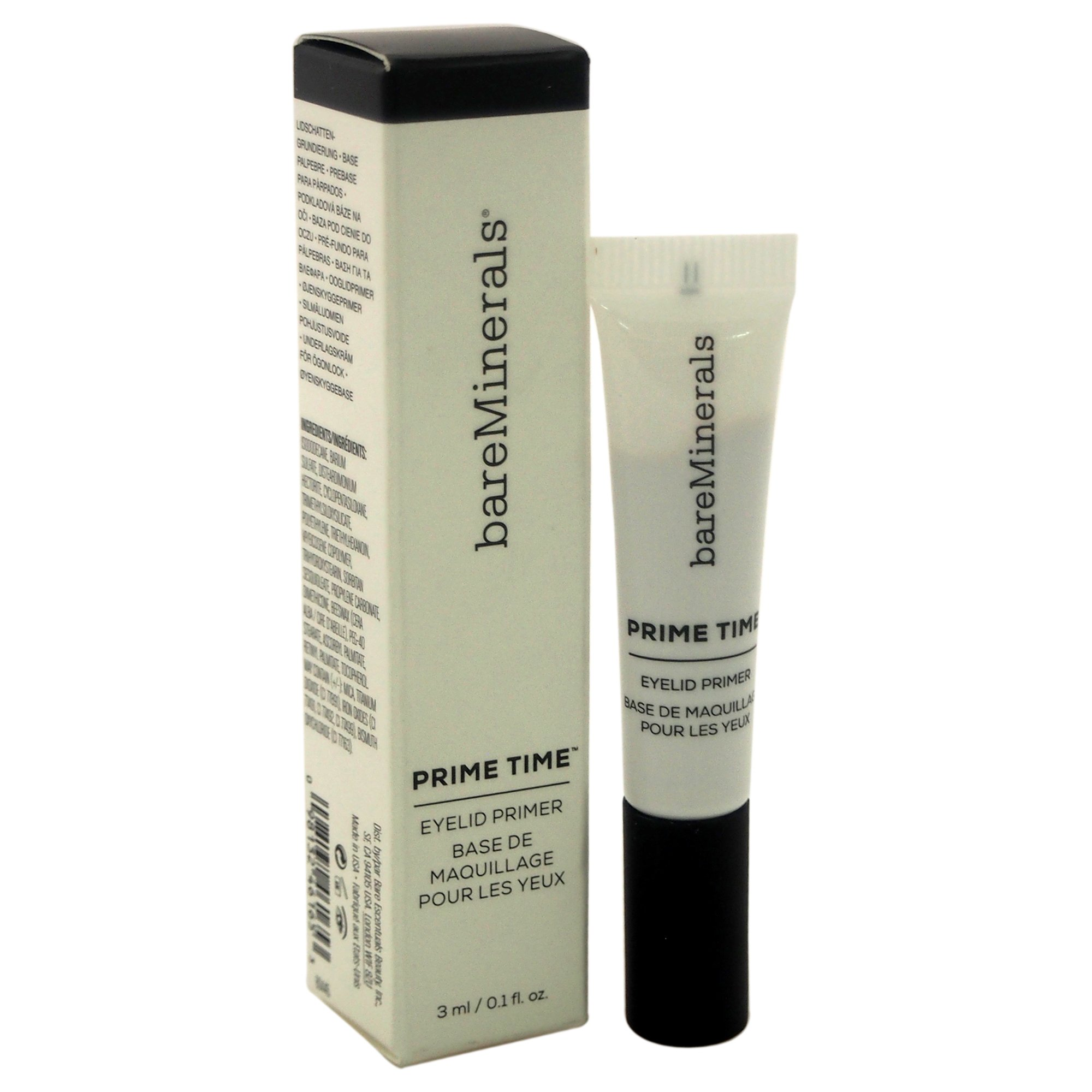 bareMinerals Prime Time Eyelid Primer for Women, 0.1 Ounce